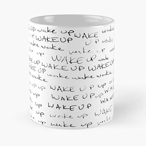 Teen Wolf Stiles Stilinski Wake Up Mug Coffee Mugs For Gifts Cup - Best 11 Ounce Ceramic Coffee Mug Gift