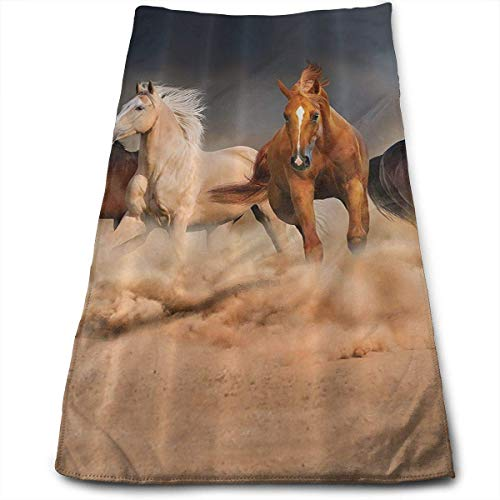WTZYXS Horse Kitchen Dish Towels with Vintage Design for Use In Kichen at Paties,Weddings,Dinners Or Events 12