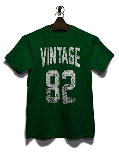 Vintage 1982 T-Shirt Dunkel Grün