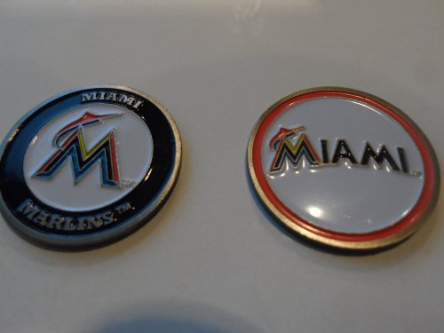 miami-marlins-double-sided-marcatore-per-pallina-da-golf-solo