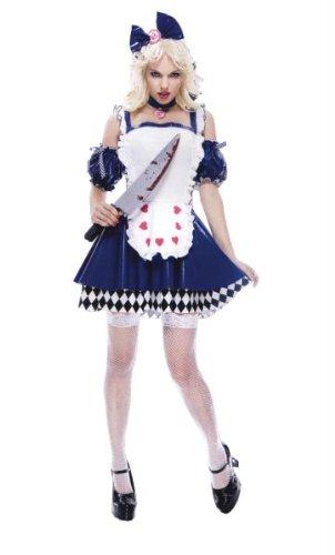 Womens Kostüm Wicked Alice - Kost-me f-r alle Gelegenheiten PM731149 Medium Alice Wicked Women