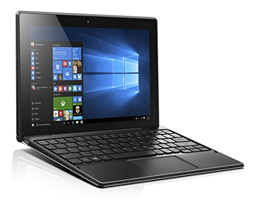 Lenovo Miix 310 25,4 cm (10,1 Zoll Full HD IPS Touch) Convertible Tablet-PC (Intel Atom Z8350, 4GB RAM, 64GB eMMC, Windows 10 Home) silber