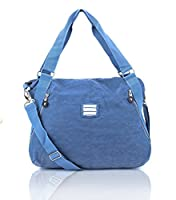 Chic, stylish, practical and roomy enough to fit all your essential items, that is what you want from a handbag- that's exactly what you will get with this Suvelle crinkle nylon tote bag. The pocket-lined interior stashes it all in style you'll love...
