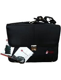 Crew funda Air Berlin Delsey Piloto Airline equipaje de mano Viaje Laptop Oficina Bag (Dark Blue)