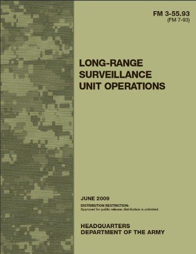 Field Manual FM 3-55.93 (FM 7-93) Long-Range Surveillance Unit Operations June 2009 (English Edition) Surveillance Unit