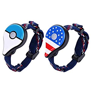 Chidjon Luxury Go Plus Bluetooth Wristband Bracelet Watch Game Accessory for Ninten