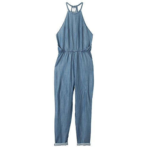 RVCA Overall Be About It Chambray, Blau XS Cowboy