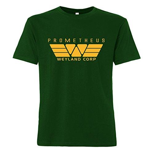 ShirtWorld Weyland Corp - T-Shirt Grün