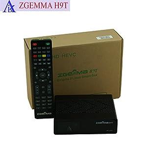 USB Wifi ZGEMMA H9T con un sintonizzatore ibrido DVB-T2 / C, 4K UHD HDR, supporto QT Stalker