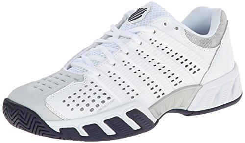 K-Swiss , Herren Tennisschuhe weiß White/Glacier Gray/Navy