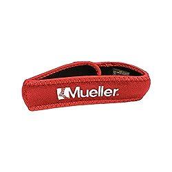 Mueller Kniegurt / Jumper's Knee Strap, Einheitsgrösse, rot