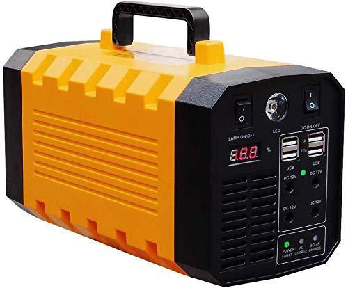 Tragbares Kraftwerk - Mobiler Lithium-Akku für den Außenbereich - Solar-Ready Generator CPAP-Stromausfall-Notfall-Kit (500 W, 453 Wh)...