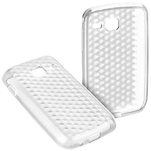 YAYAGO Silikon Case transparent Clear Tasche Hülle Schutzhülle für Samsung Wave Y S5380 Schutz Hülle Tasche Diamond Design inkl. dem Original YAYAGO Clean-Pad