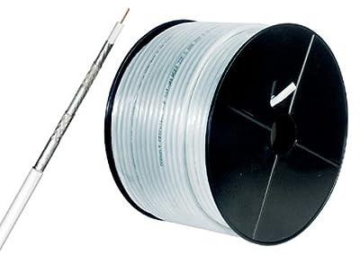 125dB Koaxial Antennen Kabel (CU) 5fach geschirmt 50m von MANAX auf Lampenhans.de
