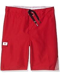 "Rip Curl Lettring 17"" S/E - Bañador para hombre, color rojo (baton red), talla 14"
