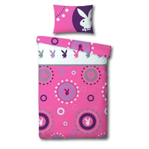 playboy-bubbles-design-quilt-duvet-cover-bedding-set-single-bed-pink