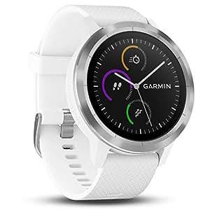 Garmin vívoactive 3 GPS-Fitness-Smartwatch - vorinstallierte Sport-Apps, kontaktloses Bezahlen mit Garmin Pay