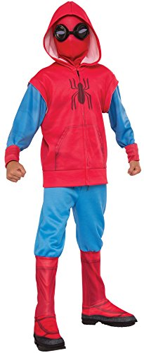 Rubies Spiderman Homecoming Boys Deluxe Muscle Chest Sweats Spiderman L