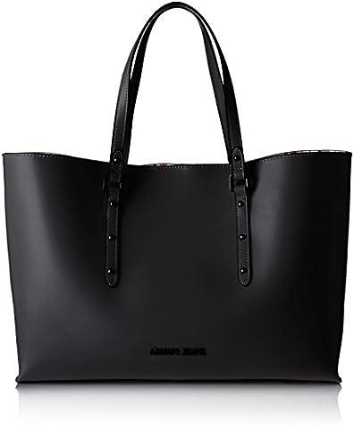 Armani Jeans Women's 9221717P757 Tote Bag black Schwarz (NERO 00020)