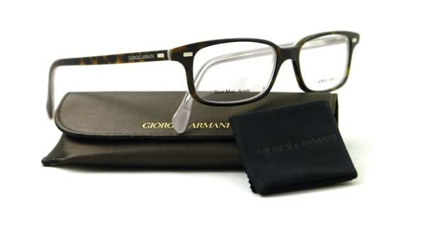 e823c55f6e Giorgio Armani GA 787 P8F Tortoise Unisex Eyeglasses  Amazon.co.uk  Clothing