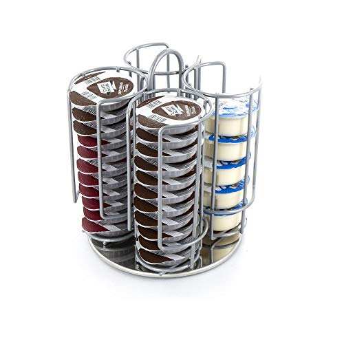 Soporte de torre para cápsulas de café de 48 cápsulas para Dolce Gusto Nespresso