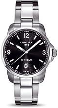 Comprar Certina DS Podium-Reloj de cuarzo de acero inoxidable c0014101105700por Certina
