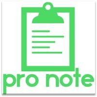 ProNote clásico bloc de notas