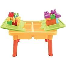 Bieco 06002011 - Actividad mesa con accesorios, alrededor de 59 x 42 x 37 cm