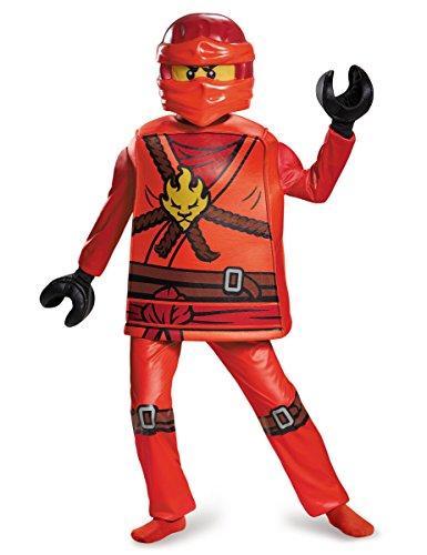 Hochwertiges Kai Ninjago Kinderkostüm von (Kostüm Kai Lego)