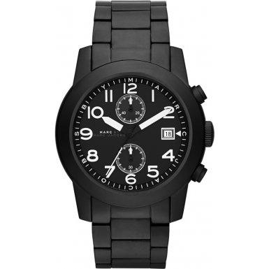 Marc by Marc Jacobs MBM5052 Mens Black Steel Larry Watch
