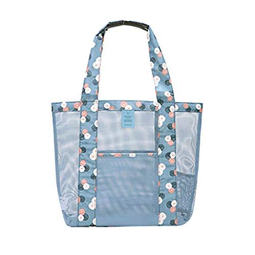 TianranRT Neue Mode Frauen Umhängetaschen Einkaufstasche Ein-Schulter Umhängetasche Für Frauen Strand Net Aufbewahrungstasche