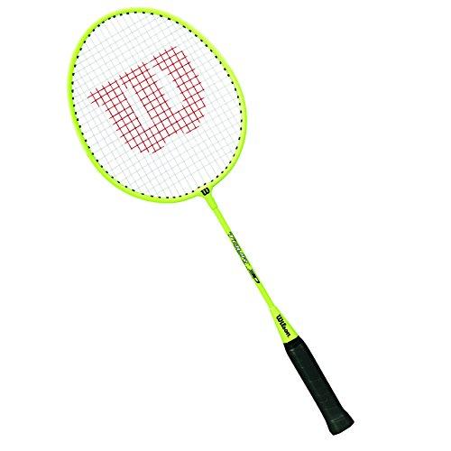Wilson Tour 30 No Raqueta de Badminton, Niños, Lima, 3
