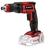Einhell 4259980 TE-DY 18 Li-Solo Akku-Trockenbauschrauber, Rot, Schwarz, ohne Akku und Ladegerät