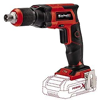 Einhell 4259980 Atornillador de obra en seco con batería, Rojo, Negro