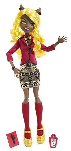 Monster High - BLW96 - Poupée - Look Fashion - Clawdia Wolf