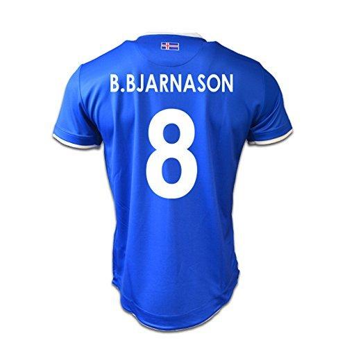 2016-17 Iceland Home Shirt (B.Bjarnason 8)
