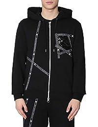 Versace Collection Homme V800877VJ00400V1008 Noir Coton Sweatshirt 317f8fd7d2c