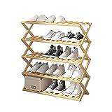 PIAOLING Zapatero Simple Zapato pequeño gabinete económico compartida Puerta Plegable Zapatero Zapatos Plataforma Zapatos Holder (tamaño : 100cm)