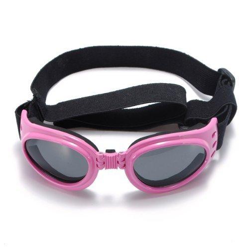 TrifyCore Modischen Wasserdichten Mehrfarbig Pet Sonnenbrille, Schutzbrille, klein (Pink)