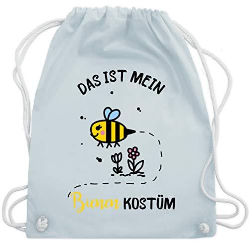 Karneval & Fasching - Das ist mein Bienen Kostüm - Unisize - Pastell Blau - WM110 - Turnbeutel & Gym ()