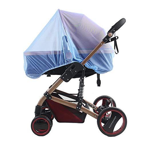Qywsj zanzariera per bambino, rete per presepe elastica elasticizzata, morsi per insetti da 1mm protezione netta, passeggino, seggiolino auto, culla