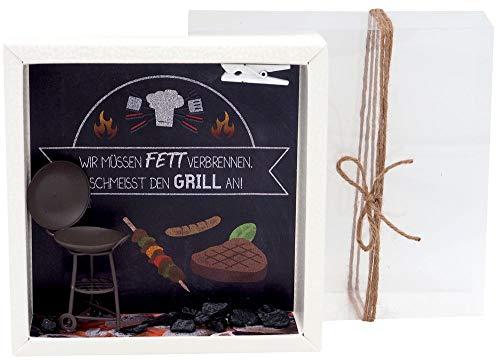 Geldgeschenk Verpackung Grillen Barbecue Mann Geburtstag Geschenk Gutschein Sommer Party
