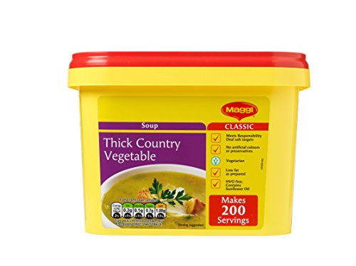 MAGGI Thick Country Vegetable Simmer Soup, 2 kg