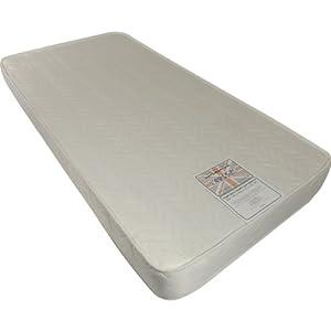 Kidsaw Single 3ft 190 x 90 cm Foam Deluxe Health Mattress (White)