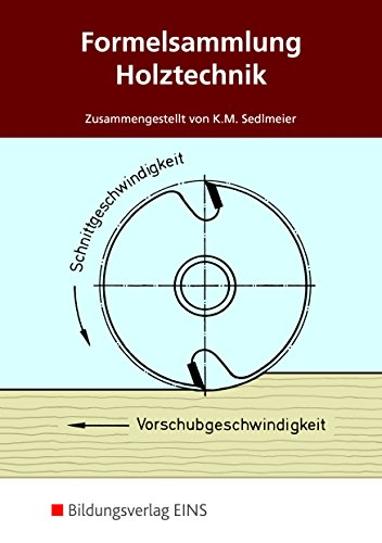Formelsammlung Holztechnik - Formelsammlung