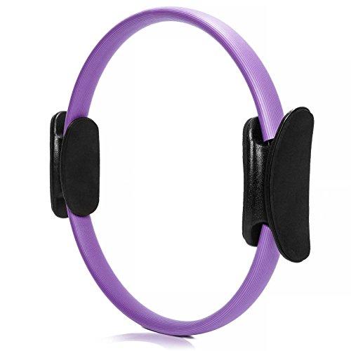 #DoYourFitness® Pilates Ring ca. 36cm Durchmesser | gezieltes Training von Arm- & Beinmuskulatur - Yoga Gymnastik Aerobic Core-Trainer violett