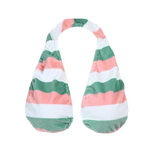 Handtuch-BH, xinxinyu Frauen weichen ta-ta Handtuch Sport Handtuch sexy Boob Schweiß Handtuch für Damen Mom, rose (Crew Crew Socken Trim Fit)