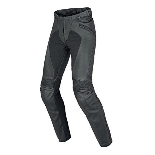 *Dainese Pony C2 Damen Frauen Leder Motorradhose, Schwarz, Größe 40*