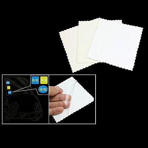 Sixmad (TM) 3Pcs Car Auto Window segnale Cancella elettricit¨¤ statica Sticker Film - Cancella Window Sticker