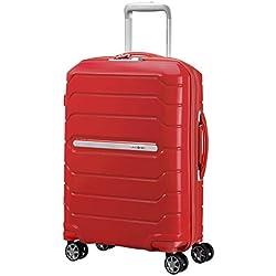 Samsonite Flux - Spinner Bagage Cabine 55 Centimeters 44 Rouge (Red)